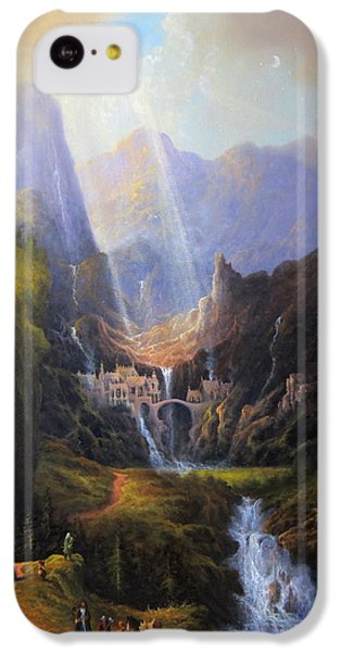Rivendell. The Last Homely House.  IPhone 5c Case by Joe Gilronan