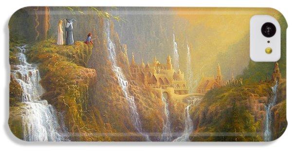 Rivendell Wisdom Of The Elves. IPhone 5c Case by Joe  Gilronan