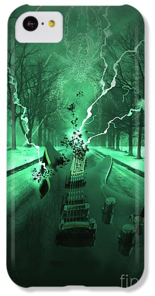 Road Trip Effects  IPhone 5c Case by Cathy  Beharriell