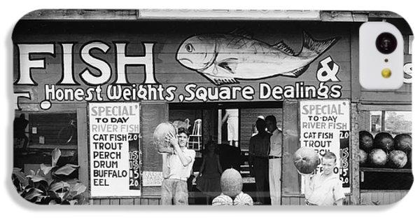 Roadside Stand Near Birmingham, Alabama IPhone 5c Case by Walker Evans