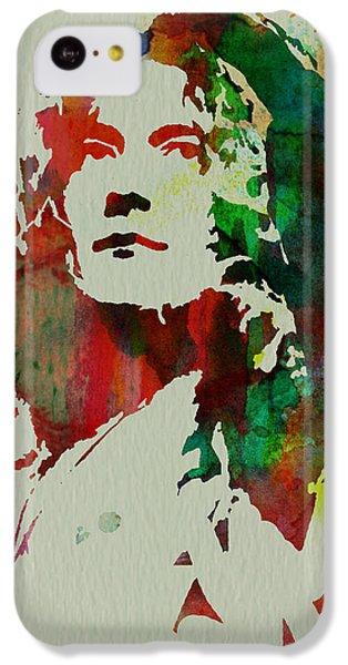 Robert Plant IPhone 5c Case by Naxart Studio