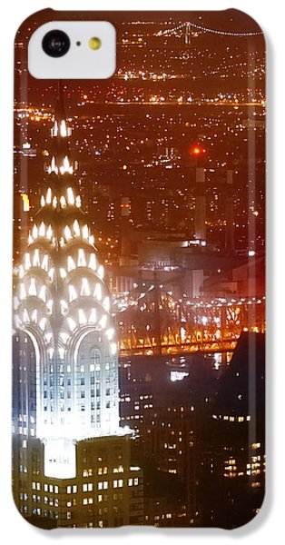 Romantic Manhattan IPhone 5c Case by Az Jackson