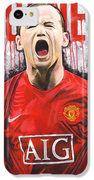 Rooney IPhone 5c Case by Jeff Gomez