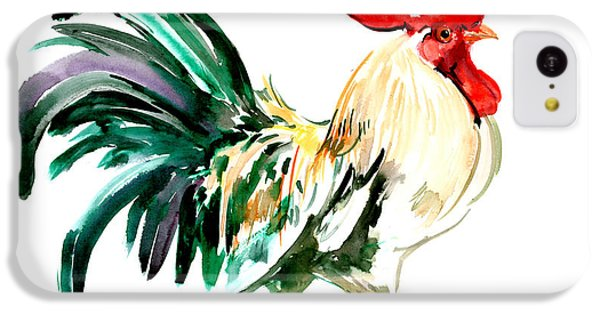 Rooster IPhone 5c Case by Suren Nersisyan