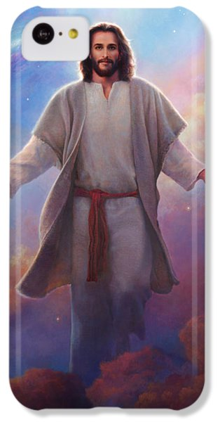 Sacred Space IPhone 5c Case by Greg Olsen