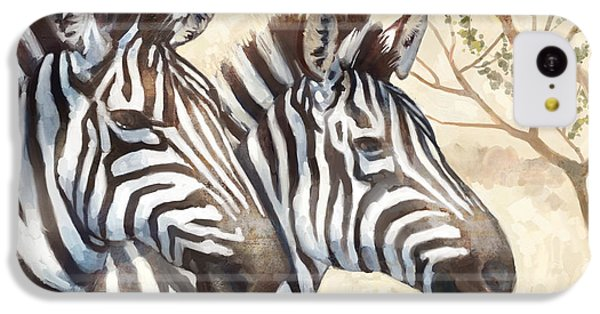 Safari Sunrise IPhone 5c Case by Mauro DeVereaux