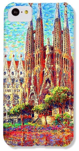 Sagrada Familia IPhone 5c Case by Jane Small