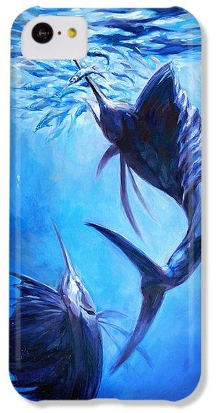 Sailfish And Ballyhoo IPhone 5c Case by Tom Dauria