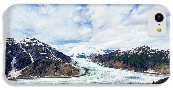 Salmon Glacier IPhone 5c Case by Heidi Brand