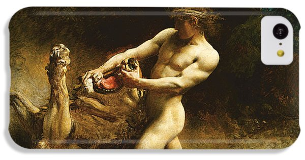 Samson's Youth IPhone 5c Case by Leon Joseph Florentin Bonnat