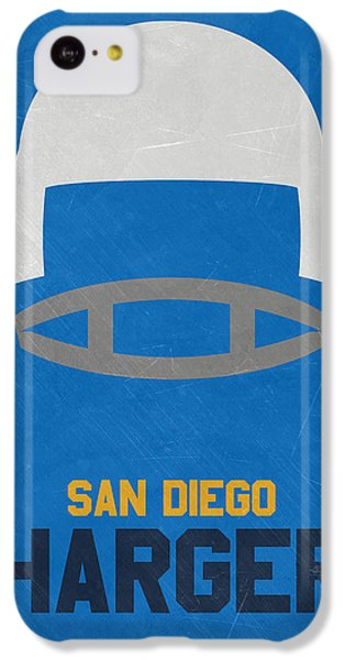 San Diego Chargers Vintage Art IPhone 5c Case by Joe Hamilton