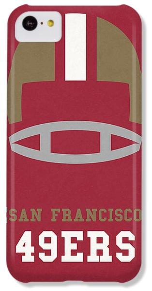 San Francisco 49ers Vintage Art IPhone 5c Case by Joe Hamilton