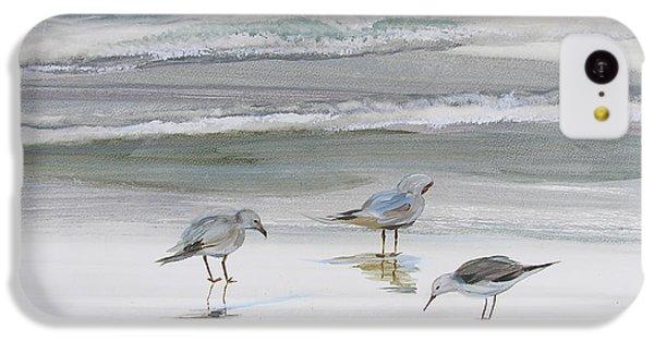 Sandpipers IPhone 5c Case by Julianne Felton