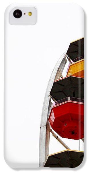 Santa Monica Pier Ferris Wheel- By Linda Woods IPhone 5c Case by Linda Woods