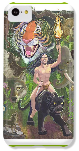 Savage IPhone 5c Case by J L Meadows