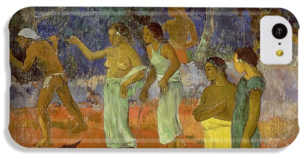 Scene From Tahitian Life IPhone 5c Case by Paul Gauguin