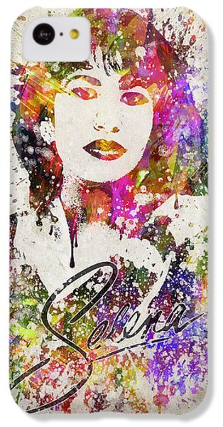 Selena Quintanilla In Color IPhone 5c Case by Aged Pixel