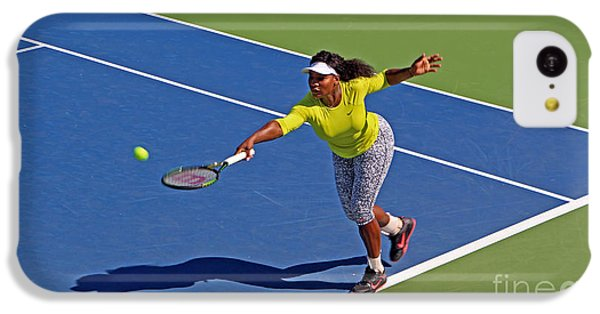 Serena Williams 1 IPhone 5c Case by Nishanth Gopinathan
