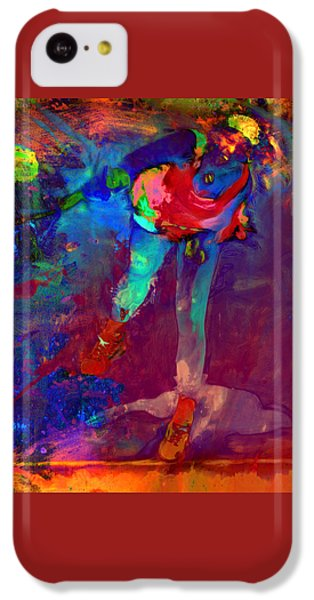 Serena Williams Return Explosion IPhone 5c Case by Brian Reaves