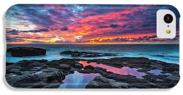Serene Sunset IPhone 5c Case by Robert Bynum