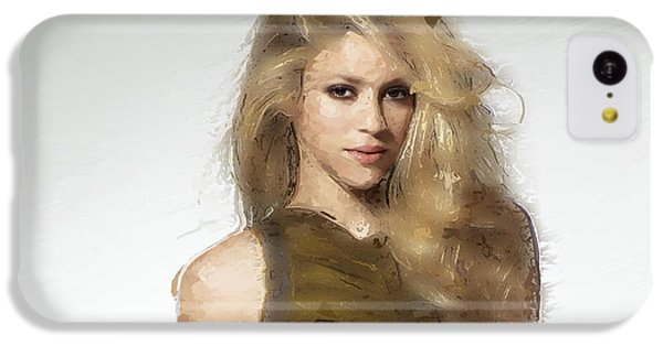 Shakira IPhone 5c Case by Iguanna Espinosa