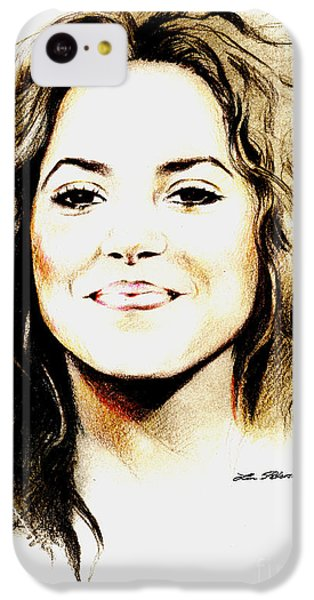 Shakira IPhone 5c Case by Lin Petershagen