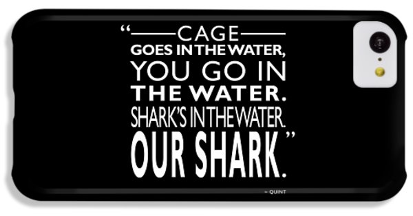 Sharks In The Water IPhone 5c Case by Mark Rogan