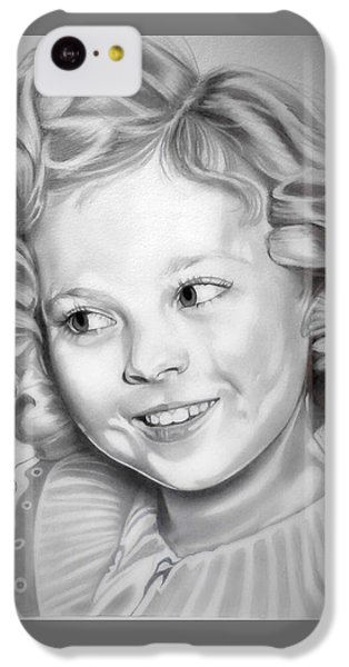 Shirley Temple IPhone 5c Case by Fred Larucci