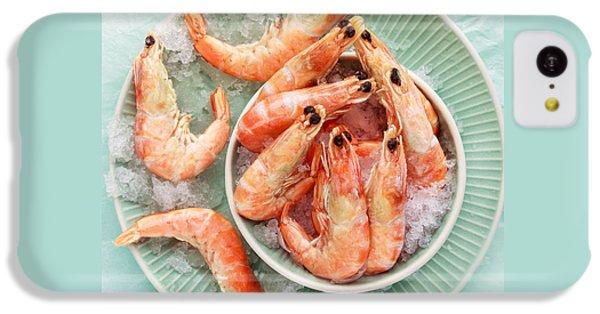 Shrimp On A Plate IPhone 5c Case by Anfisa Kameneva