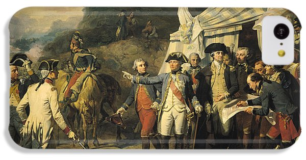 Siege Of Yorktown IPhone 5c Case by Louis Charles Auguste  Couder