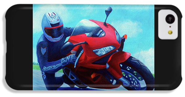 Sky Pilot - Honda Cbr600 IPhone 5c Case by Brian  Commerford
