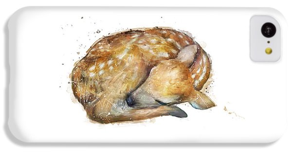 Sleeping Fawn IPhone 5c Case by Amy Hamilton