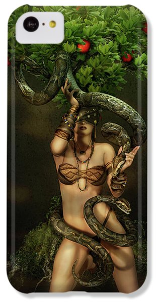 Snake Charmer IPhone 5c Case by Shanina Conway