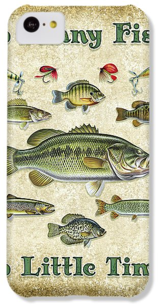 So Many Fish Sign IPhone 5c Case by JQ Licensing
