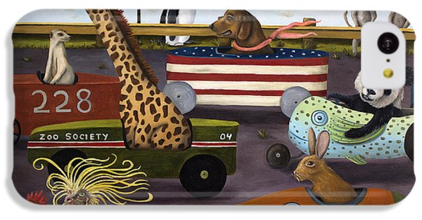 Soap Box Derby IPhone 5c Case by Leah Saulnier The Painting Maniac
