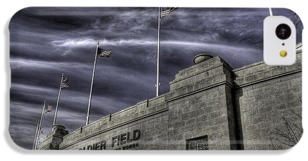 South End Soldier Field IPhone 5c Case by David Bearden