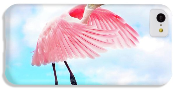 Spoonbill Launch IPhone 5c Case by Mark Andrew Thomas