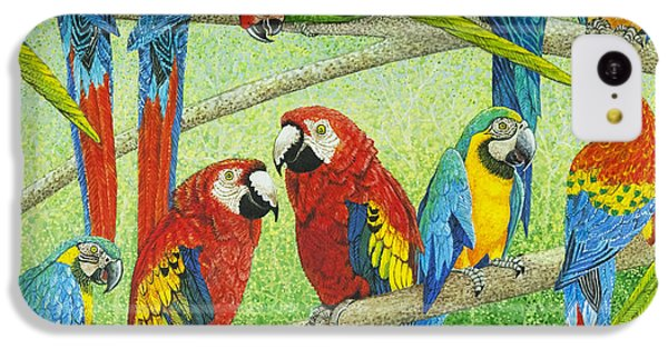 Spreading The News IPhone 5c Case by Pat Scott