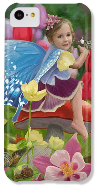 Spring Fairy IPhone 5c Case by Lucie Bilodeau