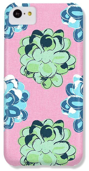 Spring Succulents- Art By Linda Woods IPhone 5c Case by Linda Woods