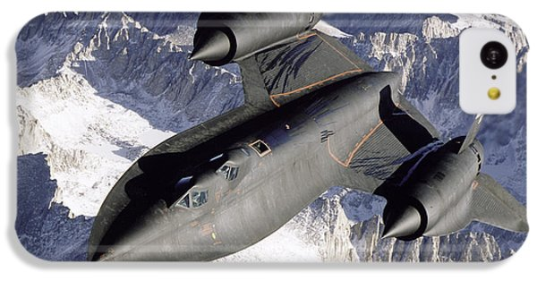 Sr-71b Blackbird In Flight IPhone 5c Case by Stocktrek Images