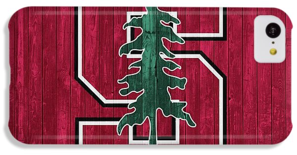 Stanford Barn Door IPhone 5c Case by Dan Sproul