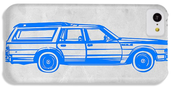 Station Wagon IPhone 5c Case by Naxart Studio