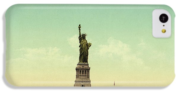 Statue Of Liberty, New York Harbor IPhone 5c Case by Unknown
