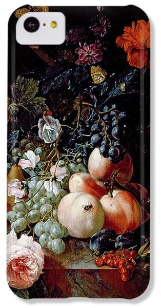 Still Life  IPhone 5c Case by Johann Amandus Winck