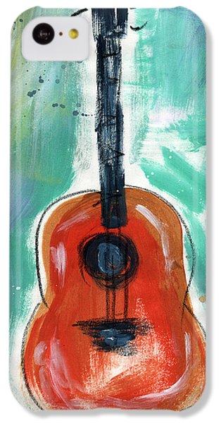 Storyteller's Guitar IPhone 5c Case by Linda Woods