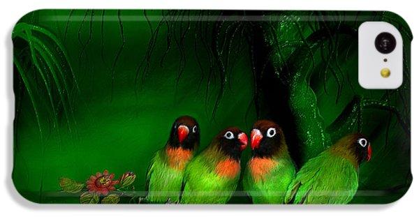 Strange Love IPhone 5c Case by Carol Cavalaris