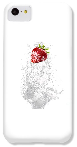 Strawberry Splash IPhone 5c Case by Marvin Blaine