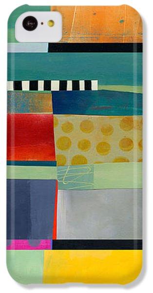 Stripe Assemblage 2 IPhone 5c Case by Jane Davies