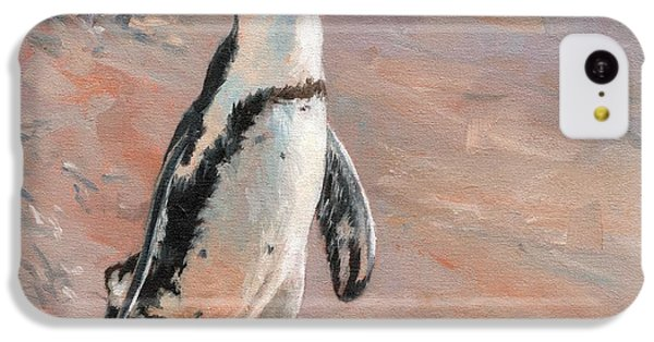 Stroll Along The Beach IPhone 5c Case by David Stribbling